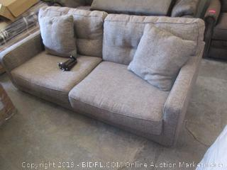 Sofa Missing one leg and some hardware