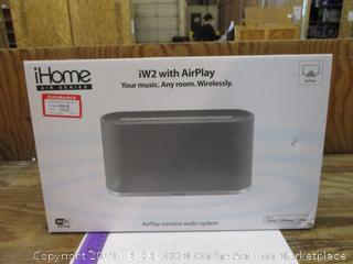 iHome iW2 with Air Play Wirelessly