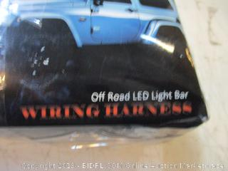 Off Road LED Light Bar Wiring Harness