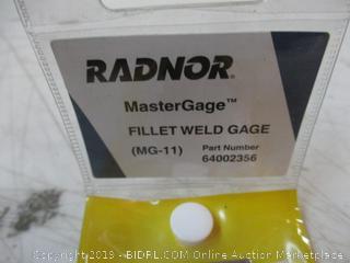 Radnor Master Gage