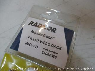 Radnor Fillet Weld Gage