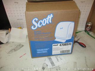 Scott Manual Slim Roll Dispenser
