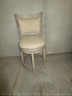 2 Cream Colored Dining Chair Set (Adustable to bar stool height?)