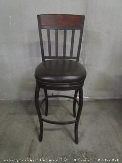 Wood / Leather Bar Stool chair