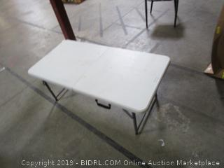 Mini Folding Plastic Table