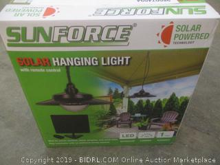 Sunforce Solar Hanging Light