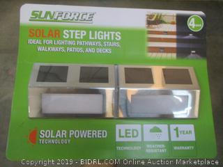 Sunforce Solar Step Lights