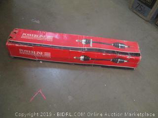 Powerline Remanufactured CV Axle Half Shaft