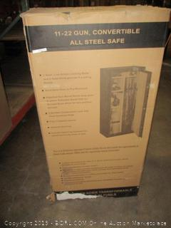 Stack-On SS-22-MB-C 22 Gun Fully Convertible Security Safe with Combination Lock, Matte Black (Retail $544.00)
