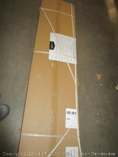 AmazonBasics Medium Duty Shelving Single-Post Press Board Shelf - 48 x 18 x 72 (Retail $99.00)