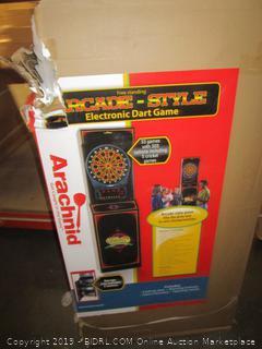 Arachnid Cricket Pro 650 Standing Electronic Dartboard (Retail $239.00)
