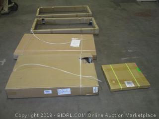 I-Star USA WNG2710-KBR1U ISTARUSA Accessory 27U 1000mm Depth Rack-Mount Server Cabinet (Retail $649.00) - Incomplete