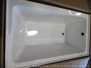 Fine Fixtures Left Apron Bathtub