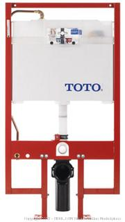 Toto WT151M#01 In-Wall Tank System, 1.6GPF and 0.9-GPF, Cotton (Retail $701.00)