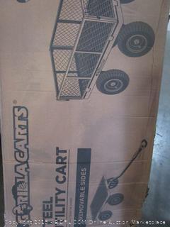 Gorilla Cart Steel Utility Cart