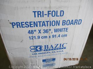 TRI-FOLD PRESENTATION BOARDS