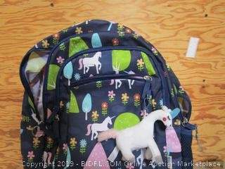 Backpack, Flashlight, Headphones, Misc. Lot
