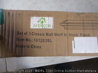 Classic Wall Shelfs SEt of 3