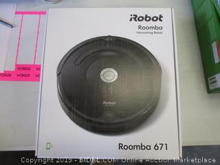 iROBOT ROOMBA 671 (POWERS ON)