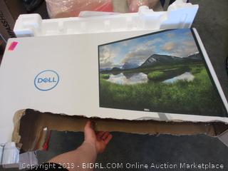 DELL 32 MONITOR (POWERS ON)