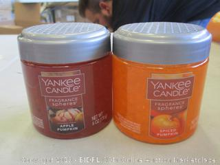 YANKEE CANDLE FRAGRANCE SPHERES