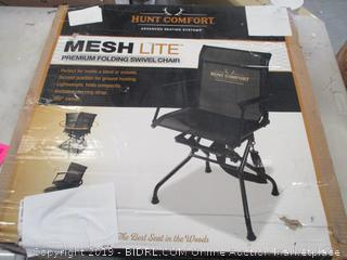 MESH LITE FOLDING SWIVEL CHAIR