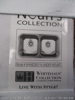 WHITEHAUS COLLECTION UNDERMOUNT SINK