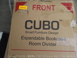 CUBO EXPANDABLE BOOKCASE ROOM DIVIDER