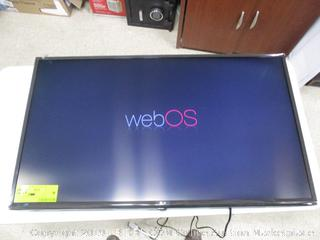 """LG UHD TV 43"""" (FACTORY SEALED) (OPENED FOR PICTURING)"""