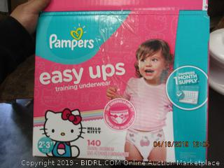 PAMPERS HELLO KITTY 2T-3T