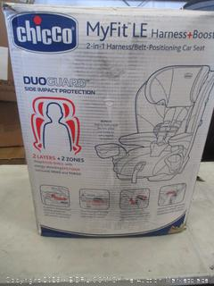 CHICCO MYFIT LE HARNESS/BELT-POSITIONING CAR SEAT