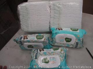 SEVENTH GENERATION BABY WIPES & DIAPERS
