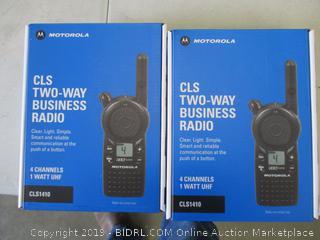MOTOROLA CLS TWO-WAY BUSINESS RADIO (2)