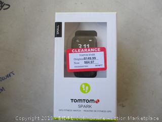 TOMTOM SPARK FITNESS WATCH (POWERS ON)