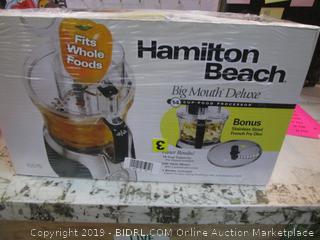 Hamilton Beach Big Mouth Food Processor