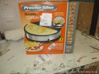 Proctor Silex Crepe Maker