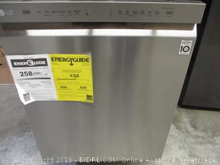 LG Stainless Dishwasher  LDF5545ST (Powers On)