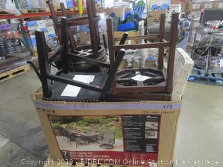 Pallet Lot: Misc. Dining Chairs & Stools