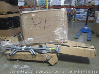 Pallet Lot: Inversion Table, Patio Umbrella, Basketball Hoop, etc.