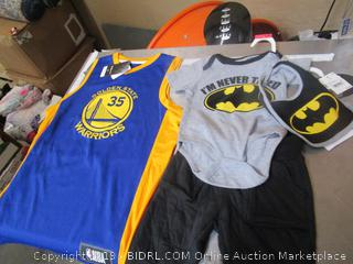 Batman Kids Clothes, Warrios Shirt Items Preview