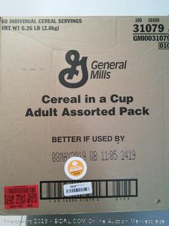 Cereal in Cup - 60 Adult Assorted Pack