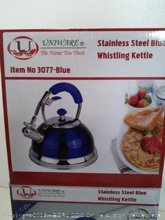 Blue Whistling Kettle