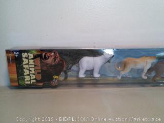 Wild Animal Safari Play Set