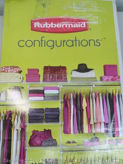 Closet Kit - Rubbermaid 4 - 8 feet (Online $82)