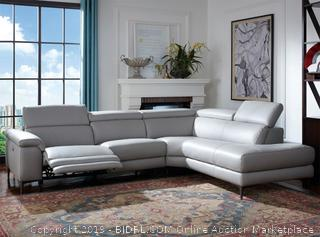 Axel Recliner Sectional Sofa (online $2599)