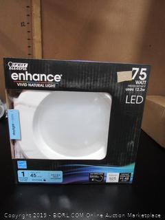 "Feit Enhance LED Retrofit 5"" 6"" Recessed Downlight 12.3W/75W"