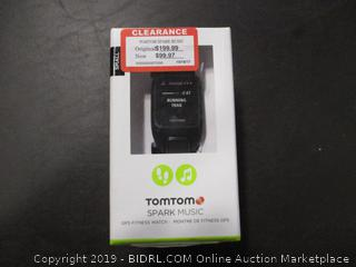 TOMTOM SPARK MUSIC FITNESS WATCH (FACTORY SEALED)
