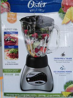 Oster Blender 5 cup capacity - 16 Speeds