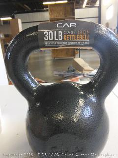 30lb Cast Iron KettleBell