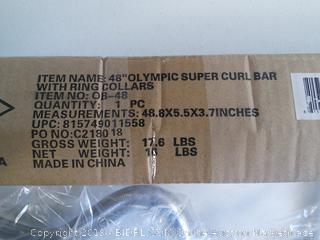 "48"" Olympic Super Curlbar by Sunny"